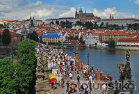 Charles Bridge and Prague Castle