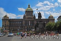 Wenceslas Square - National Museum